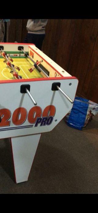 futbolín presas 2000 pro