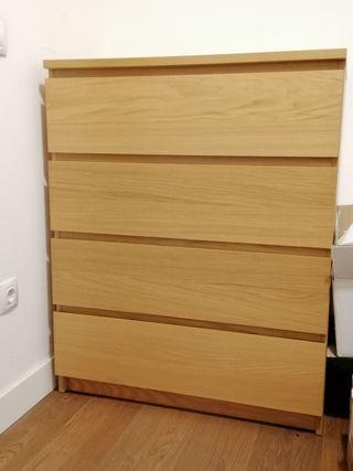 Mueble Cajonera MALM IKEA. Perfecto estado!