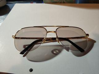Montura cartier gafas vintage Aviador
