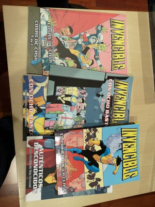 Pack Invencible Kirkman 1-6 TPB