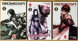 Biomega (3 tomos de 6)