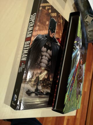 Absolute Batman Superman Loeb en Inglés