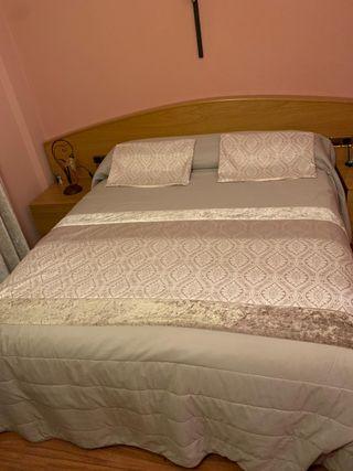Colcha de gran calidad para cama de 1'35