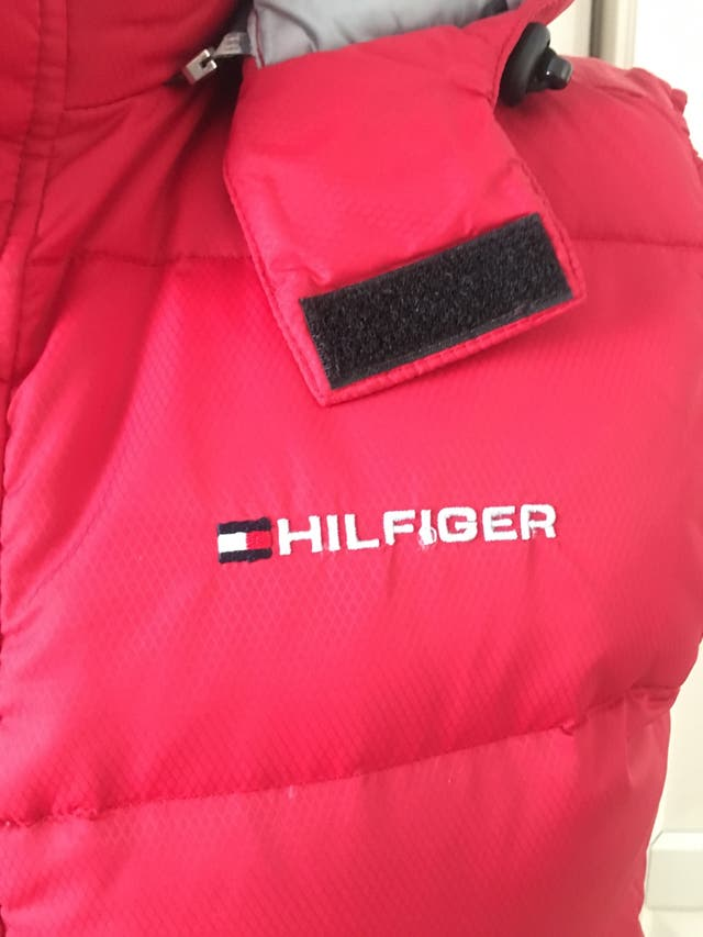 Chaleco plumas Tommy Hilfiger