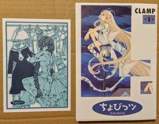Chobits Volumen 3 (1ª edición, original japonés)