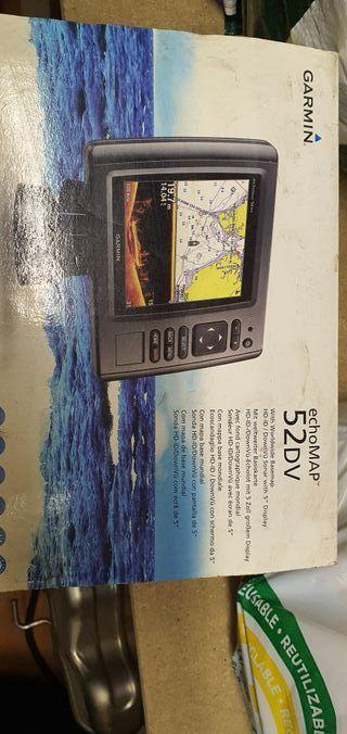 Garmin echoMAP 52 DV GPS Sonda Plotter