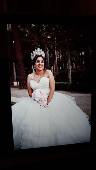 vestido novia de princesa