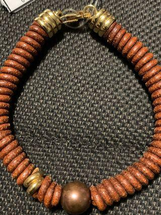 Tous pulsera oro y Perla de Tahití