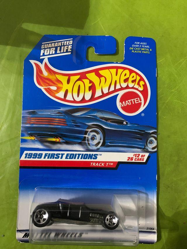 Antiguo coche Hot wheels track 1 de 1998