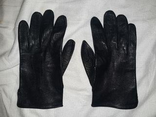 guantes piel cuero caferacer motociclismo