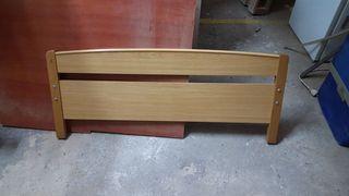 cabecero de madera 112cm nuevo