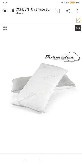 almohada viscoelástica copos 150
