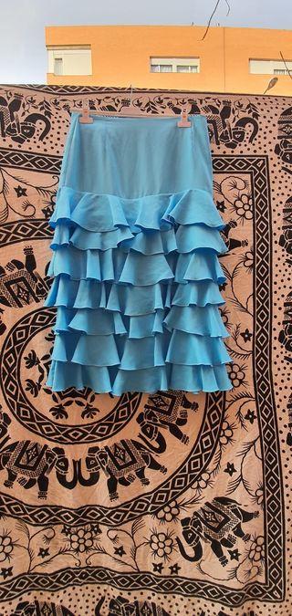 falda de sevillana flamenca gitana rociera