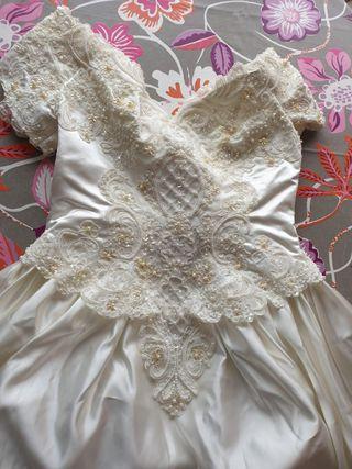 Vestido novia San Patrick mod 522,talla M-L, Obvia
