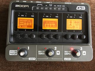 Zoom G3 Pedalera guitarra