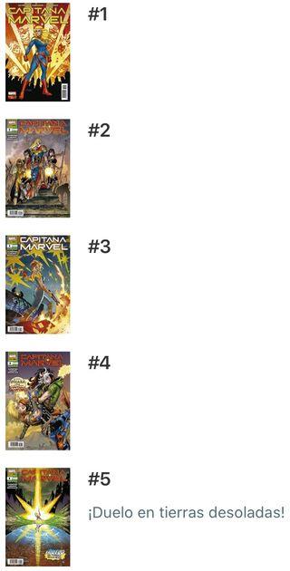 Capitana Marvel - Cómic