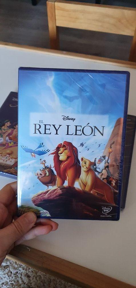 Películas Disney DVD nuevas