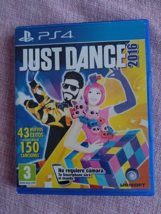Juego PS4 just dance 2016