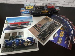 4 American cars colección altaya 1/43
