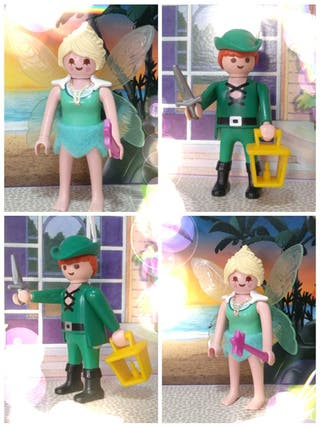 Campanilla y Peter Pan Playmobil