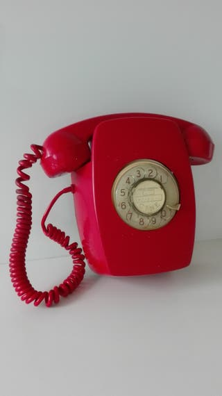 Telefono pared vintage