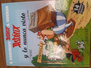 Tebeo Asterix y lo nunca visto