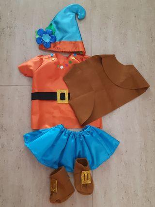 Disfraz de duendecilla - Bebé 1 año