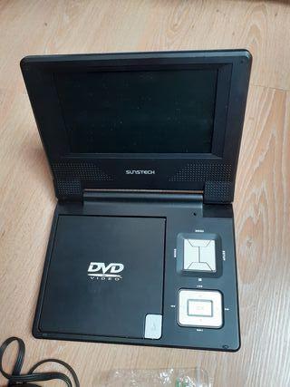 Reproductor DVD Portatil Sunstech DL-PM780 B 94243