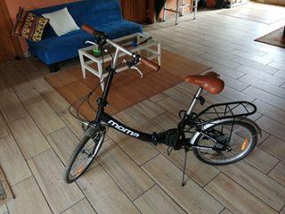 Bicicleta Moma plegable urbana shimano
