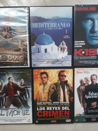 Películas dvd: 80 días, k19, el monje
