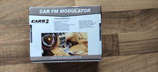 Transmisor FM bluetooth (Manos libres) para coche.