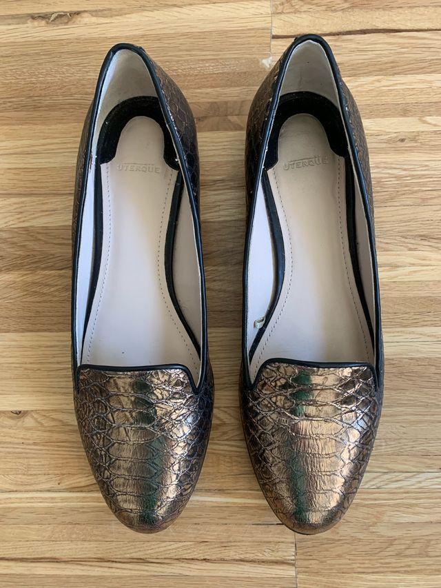 Zapatos de piel (mujer) - Uterqüe