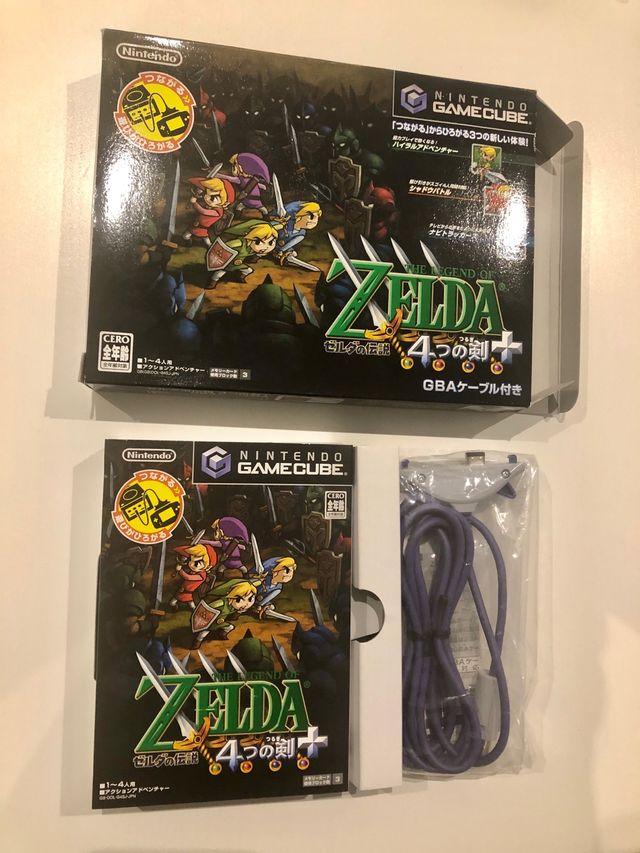 The legend of zelda Four Swords, Version Japonesa.