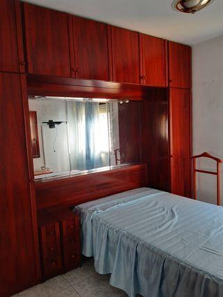 armario y cama habitacion completa