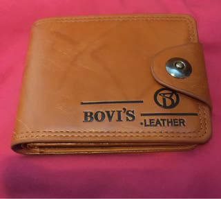 BOVI'S leather wallet