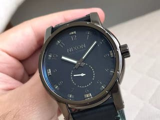 Reloj NIXON PATRIOT SWISS MOVEMENT LEATHER