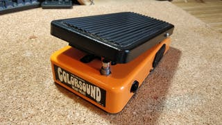 Wah Wah Colorsound pedal guitarra casi nuevo