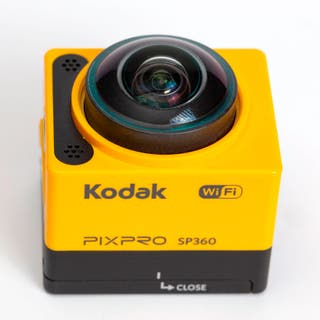 Cámara de acción Kodad Pix Pro sp 360