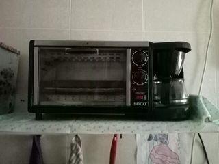 horno tostadora cafetera
