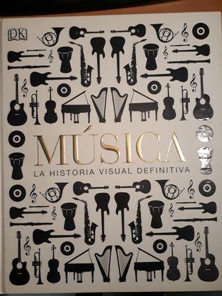 libro: música la historia visual definitiva
