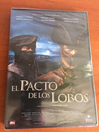 Dvd EL PACTO DE LOS LOBOS