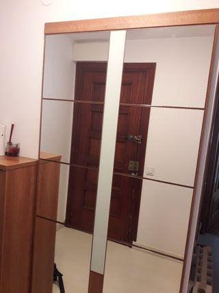 Recibidor espejo y consola