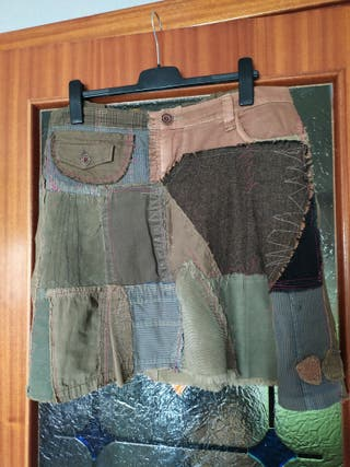 falda 50 desigual