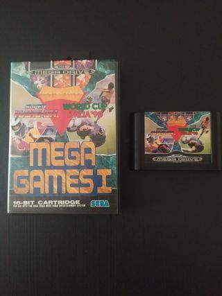 Juego Mega Drive sin manual