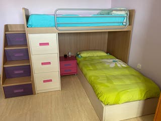Conjunto de camas juveniles