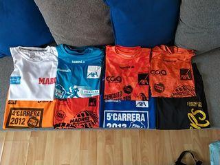 Lote camisetas running
