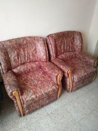 dos sofás individuales