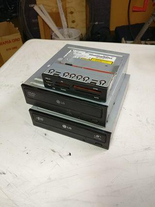 Lectores/grabadores DVD y conector con SD USB...