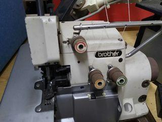 Máquina de coser industrial overlock de segunda mano por