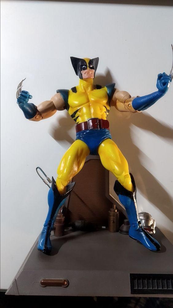 Wolverine / lobezno figura neca en muy buen estado